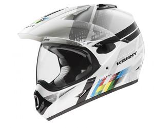 Kenny Extreme Helm - weiß