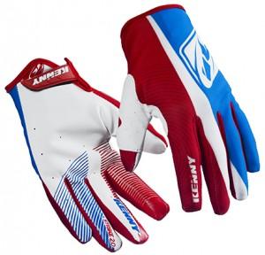 Kenny Strike Handschuhe - blau weiß rot