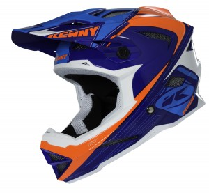 Kenny Bike Helm Scrub - blau neonorange