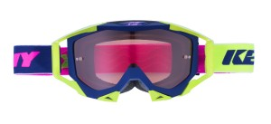 Kenny Titanium Brille - navy lime pink