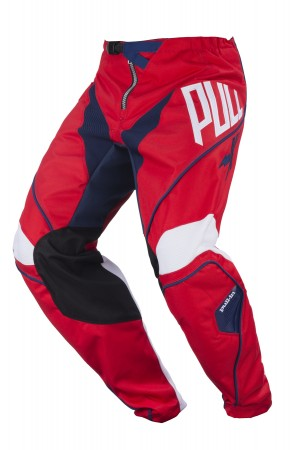 pull-in Race Pant KIDS Challenger - rot blau
