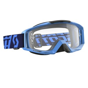 SCOTT TYRANT BRILLE - solid blue / clear works