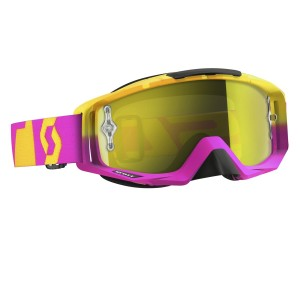 SCOTT TYRANT BRILLE - oxide pink yellow / yellow chrome works