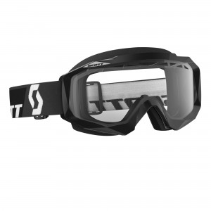 SCOTT HUSTLE MX ENDURO BRILLE -  black clear works