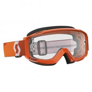 SCOTT SPLIT OTG BRILLE - orange / clear works