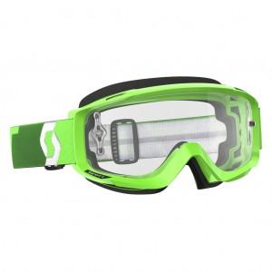SCOTT SPLIT OTG BRILLE - fluo green / clear works