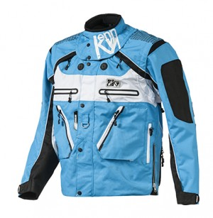 Kenny Titanium Enduro Jacke - blau