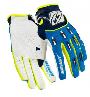Kenny Titanium Handschuhe - blau neongelb