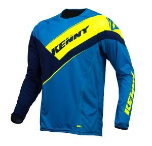 Kenny Titanium Shirt - navy cyan