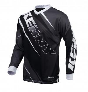 Kenny Track Shirt - grau schwarz