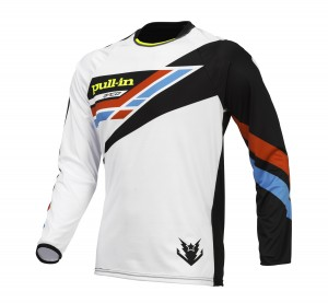 pull-in Race BMX Shirt KIDS - multicolor