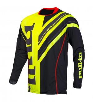 pull-in Race Shirt Frenchy - schwarz neongelb