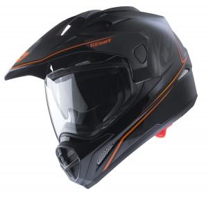 Kenny Graphic Extreme Helm - schwarz neonorange