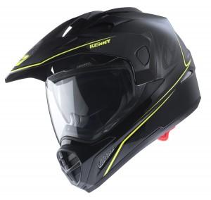 Kenny Graphic Extreme Helm - schwarz neongelb
