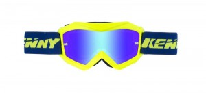 Kenny Track Plus Brille KIDS - blau neongelb