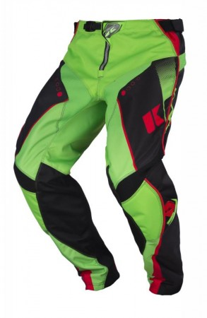 Kenny Track Pant - schwarz grün rot