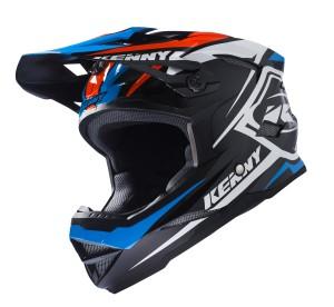 Kenny Bike Helm Scrub - schwarz blau orange