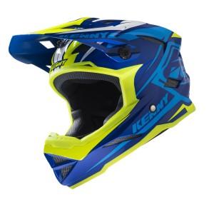 Kenny Bike Helm Scrub - navy neongelb