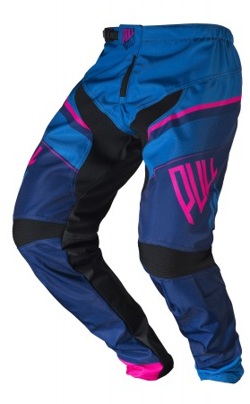 pull-in Race BMX Pant KIDS - blau pink navy