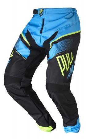 pull-in Race BMX Pant KIDS - cyan lime schwarz