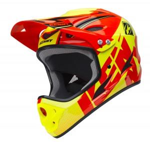 Kenny Bike Helm Down Hill - orange