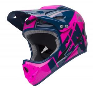 Kenny Bike Helm Down Hill - navy pink