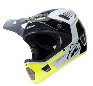 Kenny Bike Helm Scrub - weiß gelb