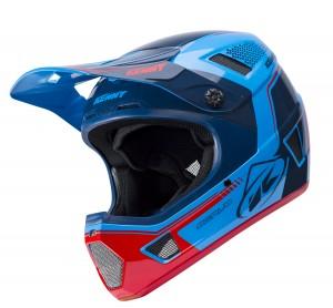 Kenny Bike Helm Scrub - blau rot