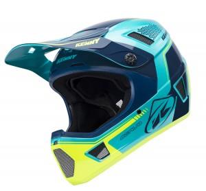 Kenny Bike Helm Scrub - Aqua gelb