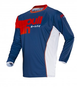 pull-in Race Shirt Fighter - navy