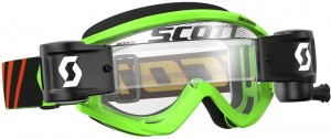 SCOTT RECOILXI WFS BRILLE - black / fluo green clear works